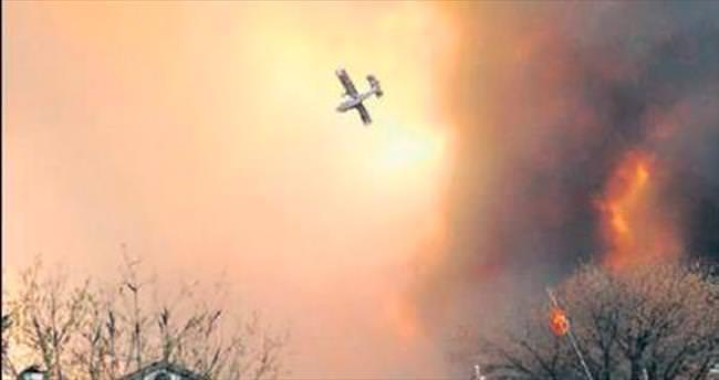 Orman yangınında koca kent boşaltıldı