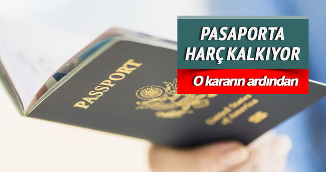 Yeni pasaporta harç yok