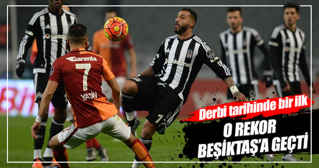 Galatasaray-Beşiktaş maçında tarihi oran