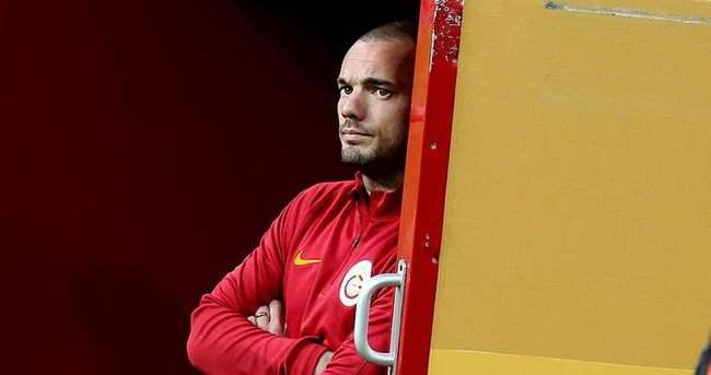 Sneijder derbide forma giyecek mi?