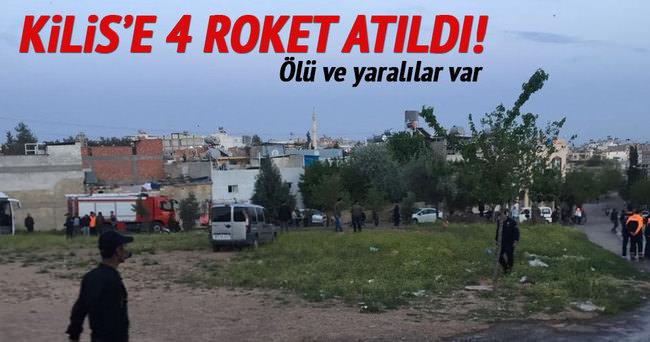 Kilis'e 4 roket atıldı! Ölü ve yaralılar var