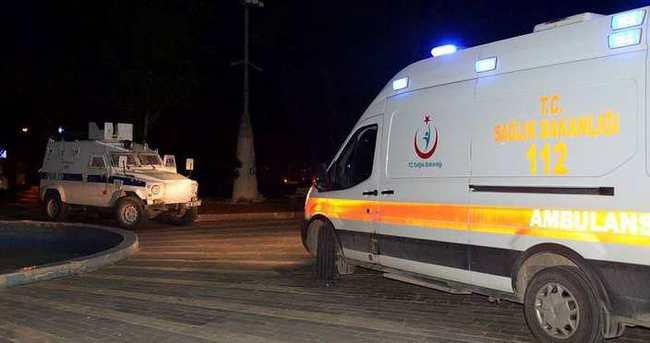 Diyarbakır'da silahlı kavga: 2'si ağır 5 yaralı
