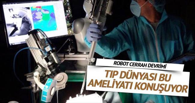 Robot cerrah devrimi
