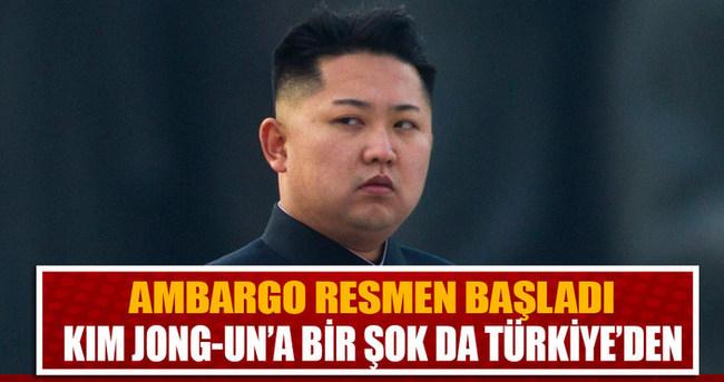 Başbakanlık'tan Kuzey Kore'ye yönelik yaptırımlar genelgesi