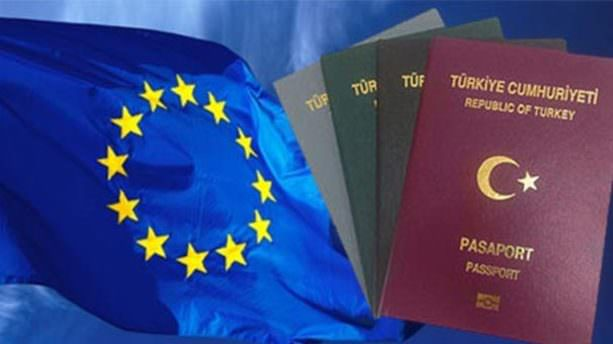 AB Komisyonunun vizesiz seyahat için tavsiye kararı