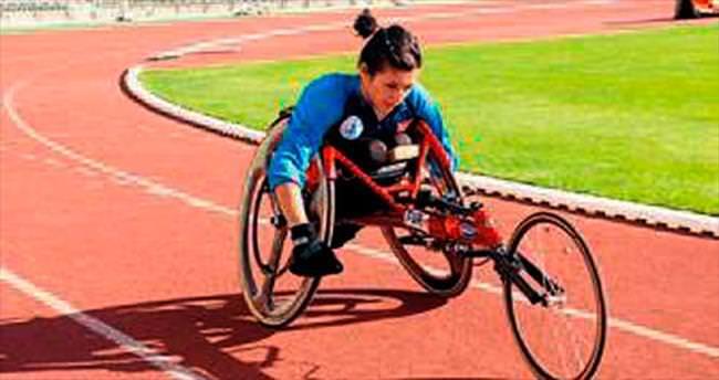 Bedensel Engelliler yarışıyor