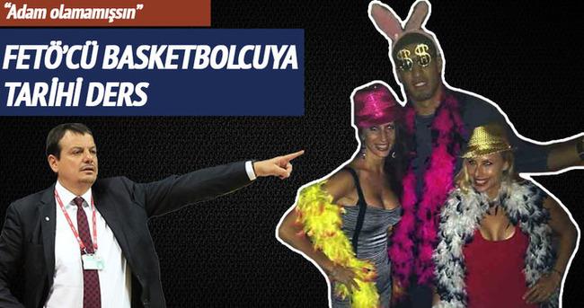 FETÖ'cü basketbolcuya tarihi ayar