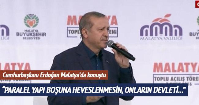 Cumhurbaşkanı Erdoğan FETÖ'ye sert çıktı