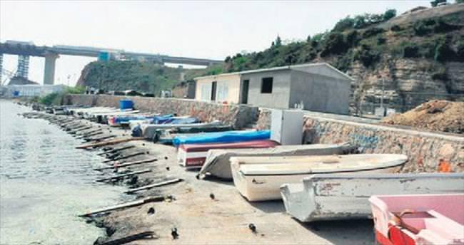 Balıkçı barınağı tamamlanıyor