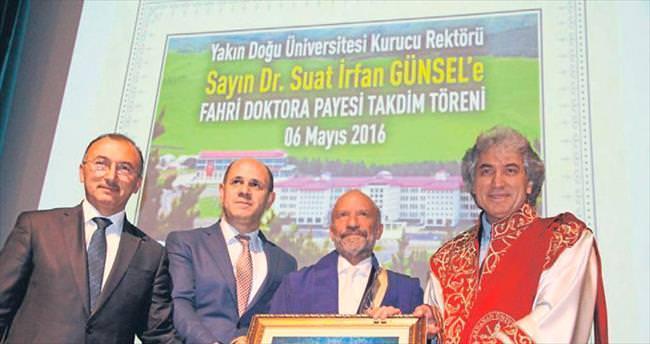 Dr. Suat İ. Günsel'e Fahri Doktora unvanı