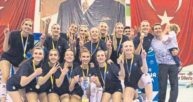 Yaşar'dan üst üste 3. şampiyonluk