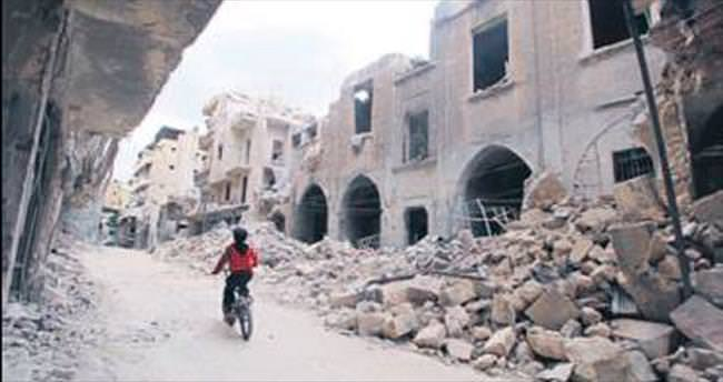 Halep'te ateşkes 72 saat uzatıldı