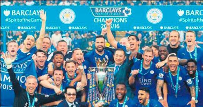 Leicester taçlandı