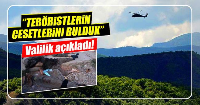 Tunceli'de terör operasyonu!