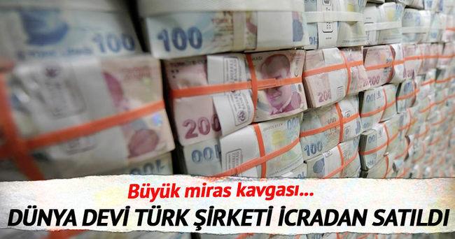 Dünya devi Türk şirket Uzel  icradan satıldı
