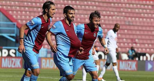 Trabzonspor'dan Rize'ye yarım düzine gol!