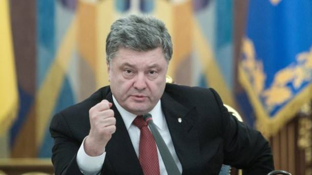 Poroşenko'dan Putin'e gönderme!