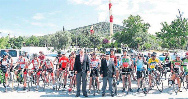 Tarsus'ta pedallar Hıdrellez için çevrildi