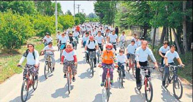 'Köyüm Bisiklete Biniyor' şenliği