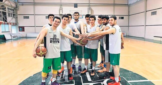 Genç takım Ankara 3'üncüsü