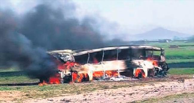 Afganistan'da zincirleme kaza: 73 ölü, 30 yaralı