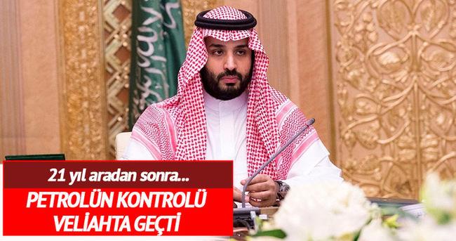 Kralın oğlu 21 yıl sonra petrolün kontrolünü aldı