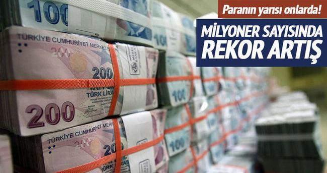 Türkiye'deki milyoner sayısı artıyor