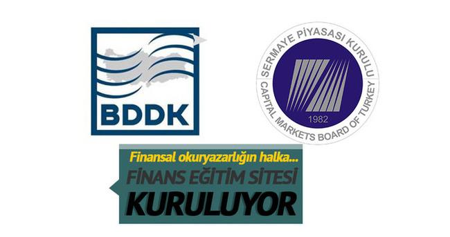 BDDK ve SPK finans eğitim sitesi kuruyor