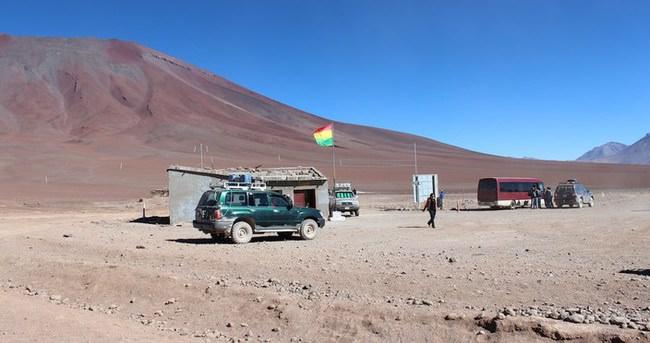 Bolivya-Şili sınırında gerilim