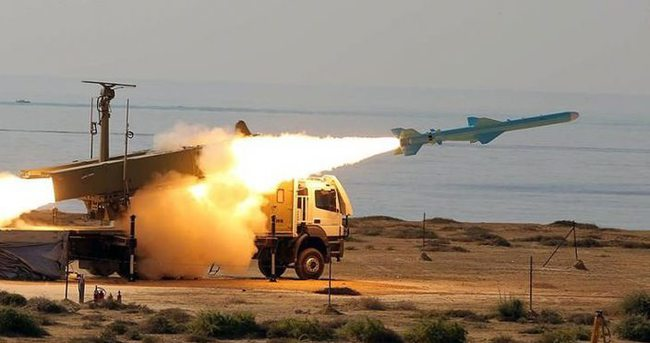İran balistik füze denedi
