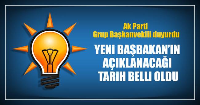 Bülent Turan Genel başkan adayı için tarih verdi