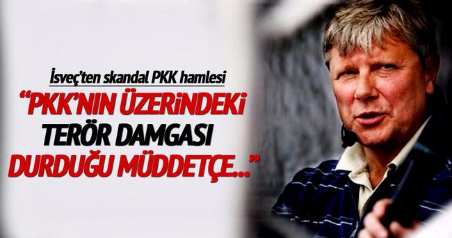 İsveç'ten skandal PKK kararı!