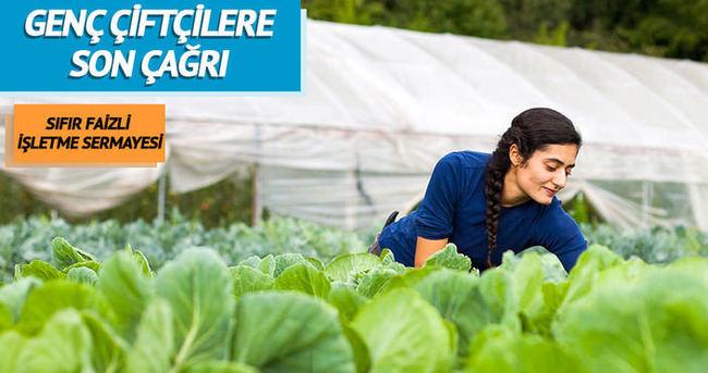 Genç çiftçi destek başvuruları sona eriyor