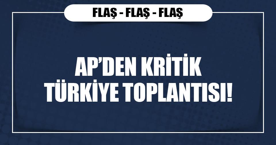 AP, Türkiye için olağanüstü toplanıyor