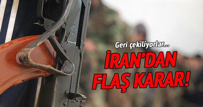 İran askerleri geri dönüyor!