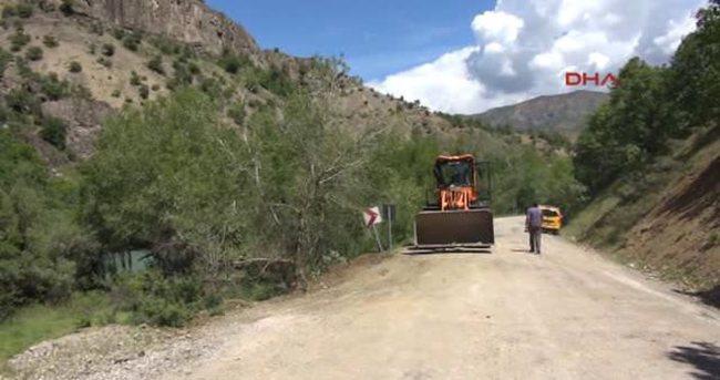 Tunceli'de 100 kilogramlık patlayıcı imha edildi