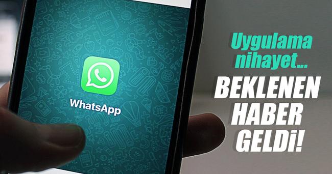 Whatsapp uygulaması nihayet bilgisayarlara geldi