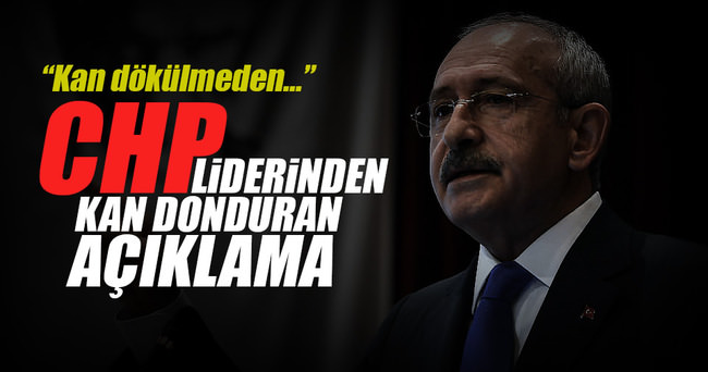 """""""Kılıçdaroğlu iç savaş çağrısı yapıyor"""""""