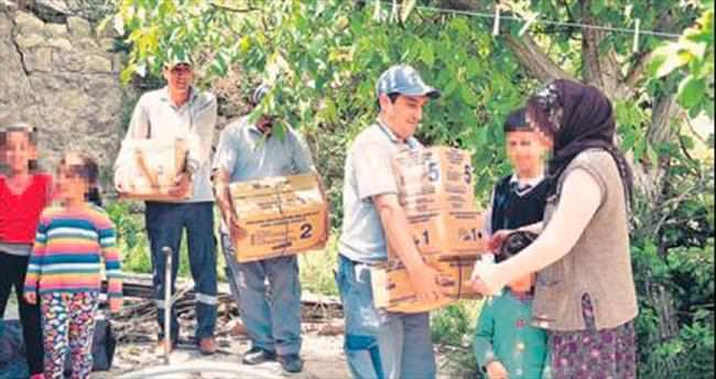 Dar gelirlilere destek sürüyor