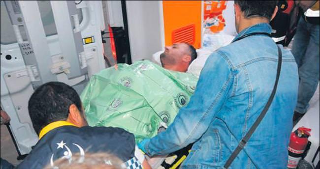 Polisi arkadan vuran hain sınırda yakalandı