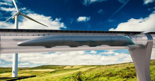 Hız yuvarı Hyperloop'un ilk test sürüşü yapıldı