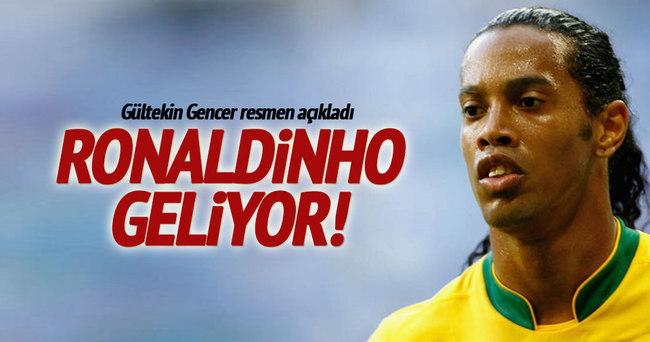 Antalyaspor, Ronaldinho'yu transfer ediyor
