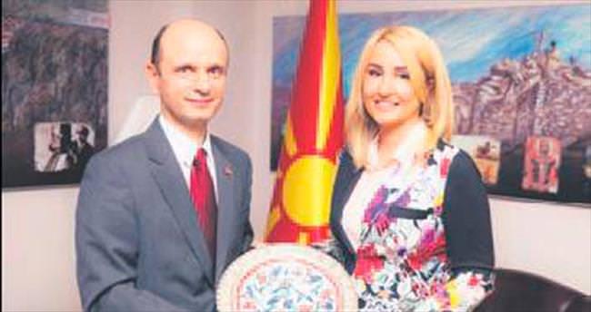 Makedon elçiye İÇGİAF ziyareti