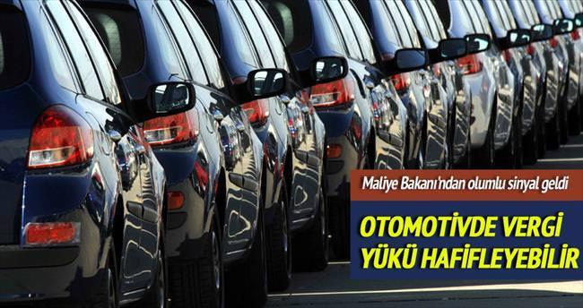 Otomotivde vergiler gözden geçirilebilir