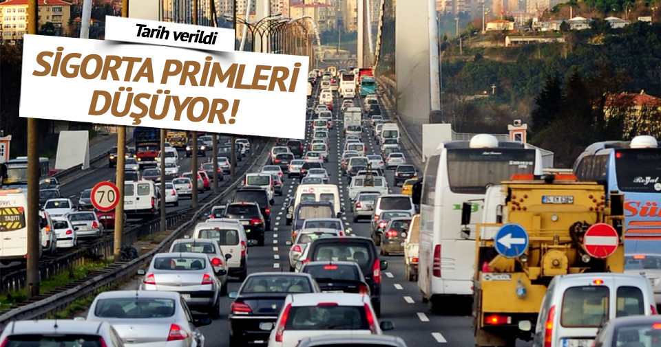 'Trafik sigortası primi yılın ikinci yarısında düşecek'