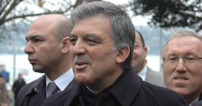 Abdullah Gül'den 'başsağlığı' açıklaması