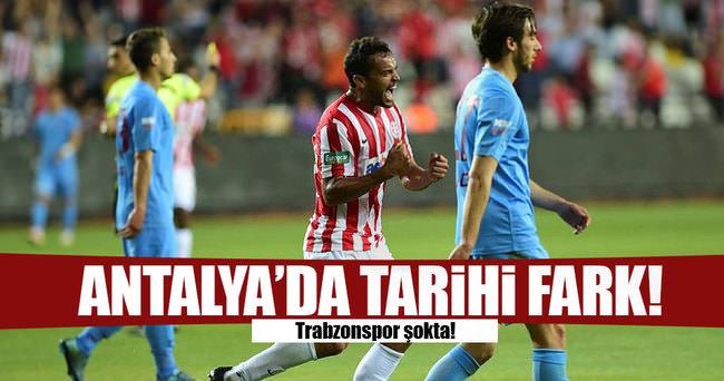Antalya'da tarihi fark!