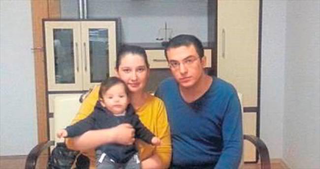 Kent Hastanesi'nde oğluna kavuştu