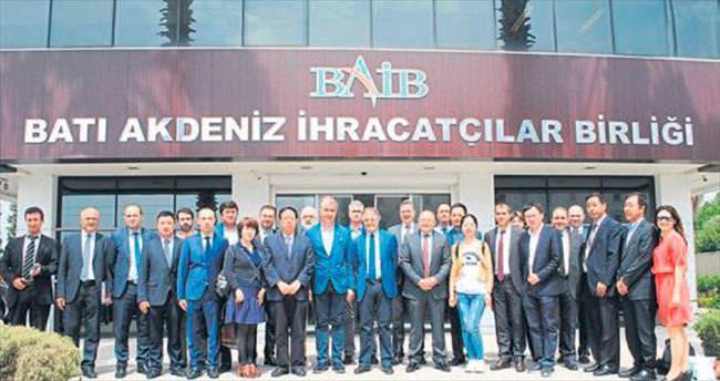 Çinli işadamlarından Türk ürünleri talebi