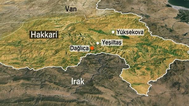 Dağlıca'da çatışma: 1 şehit 6 yaralı